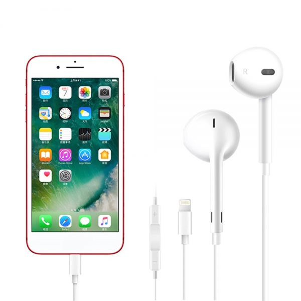 Apple Headphones with Lightning Connector
