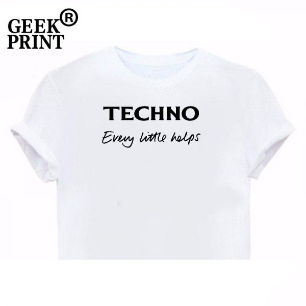 Ladies techno t-shirt