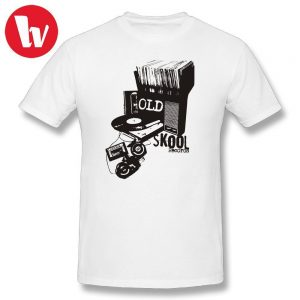 DJ Turntable Oldskool Records Classic T Shirt