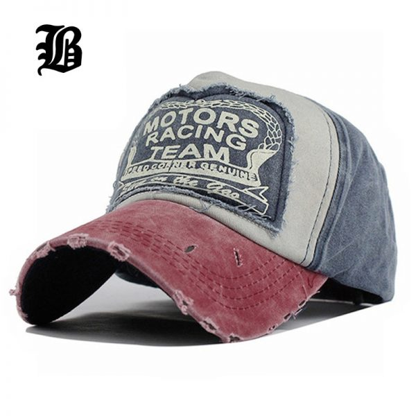 Cotton Cap Baseball Snapback Fitted Cap
