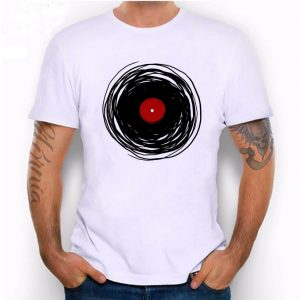Hillbilly Spinning With A Vinyl Record Unisex T-Shirt
