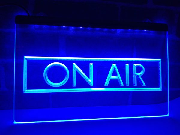 On Air Recording Studio LED Neon Sign