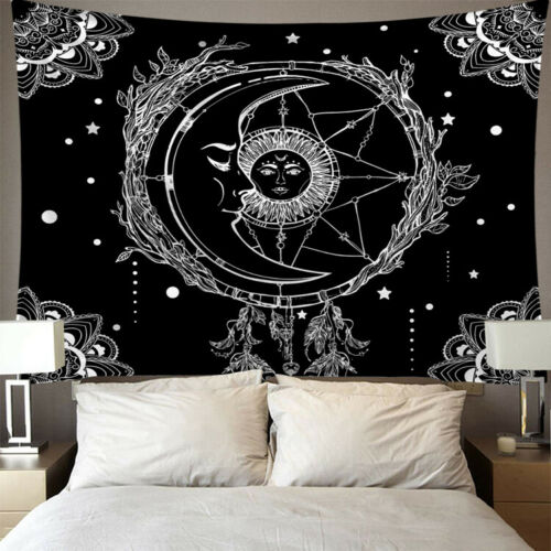 Sun Moon Tarot Wall Tapestry