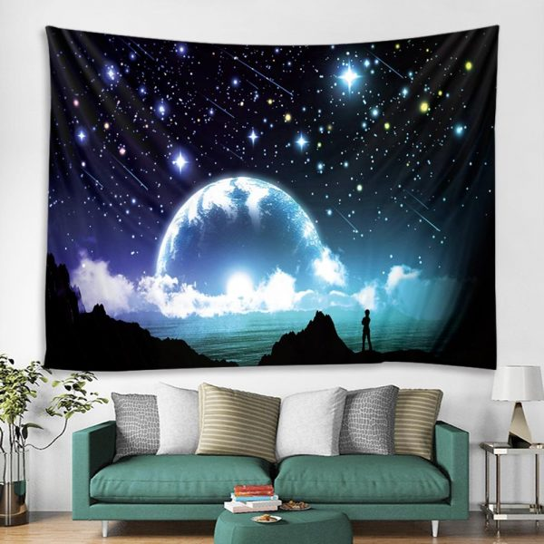 Tapestry Wall Hanging Hippie Witchcraft